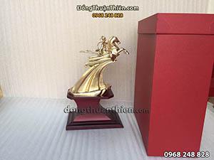 Tượng Thánh Gióng Bằng Đồng Cao 22cm