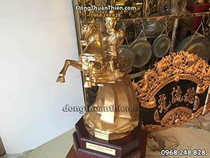 Tượng Đồng Thánh Gióng Cao 63cm