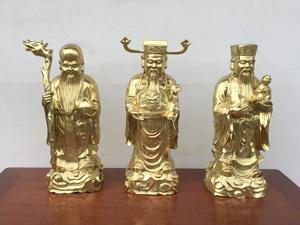 Tượng Tam Đa bằng đồng katut 55cm - Q0660