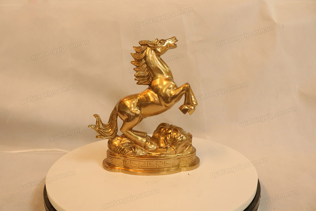 Tượng đồng con Ngựa cao 20cm - Q0147