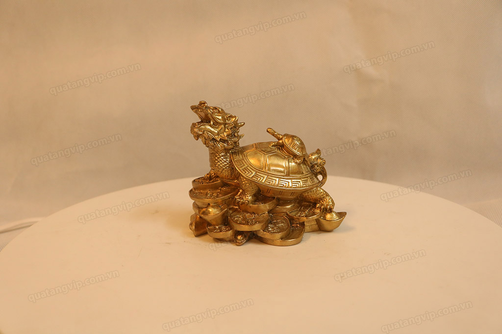 Tượng đồng Long Quy 11cm - Q0140
